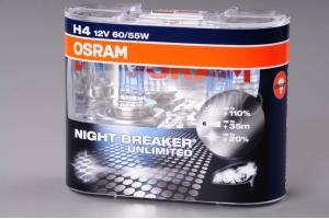 OSRAM NIGHT BREAKER UNLIMITED - Đèn tăng sáng 110%