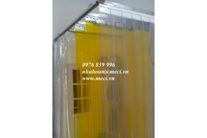 Cửa mành nhựa pvc model kéo trượt - tiện dụng sử dụng