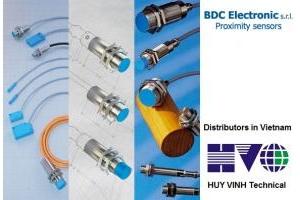 Cảm biến BDC electronic trong dây chuyền sản xuất gạch men.
