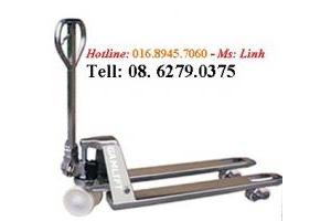Xe nâng tay bằng inox INT25M giá rẻ call 0908204096