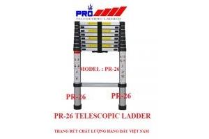 Thang nhôm rút gọn Pro Pr-26