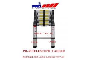 Thang nhôm rút gọn Pro PR-38