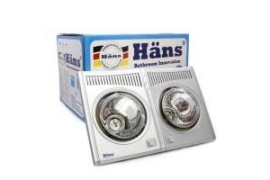Cấu tạo đèn sưởi hồng ngoại Hans