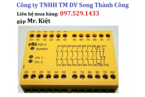 Bộ điều khiển PLC, Nhà cung cấp Pilz vietnam, order code: 774056 PNOZ X7