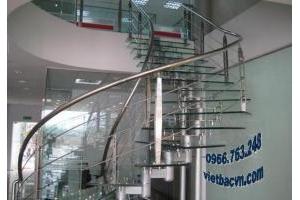 Trụ cầu thang - trụ cầu thang inox - trụ cầu thang kính.