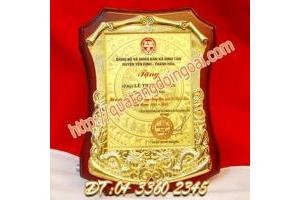 cung cấp biểu trưng đồng,nhận sản xuất biểu trưng lưu niệm in logo giá rẻ