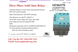 Contactor điện ba pha_SIT865570 (SVT865570-WH)_Celduc Vietnam