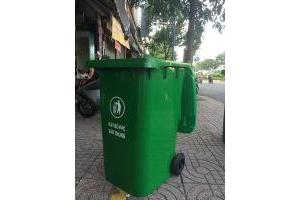 Bán thùng rác công nghiệp 240L công nghiệp giá tốt nhất