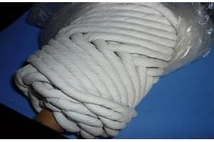 Dây chịu nhiệt chèn khe lò ,kín khớp nối( Dây gốm Ceramic,Dây Amiang,Dây teplon)