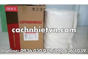 Bông sợi gốm ceramic tỷ trọng 96kg/m3 ( 610x3600x50)mm