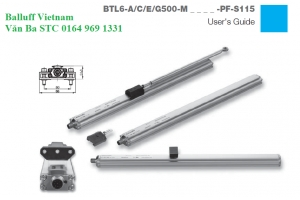 BTL6-A500-M0100-PF-S115 BTL0P9A - Balluff Vietnam_Micropulse transducer