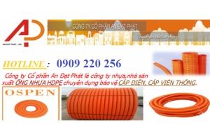 ống nhựa gân xoắn hdpe tại nghệ an
