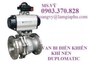 Đại lý phân phối van DUPLOMATIC tại Việt Nam