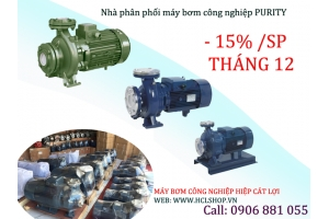 Máy bơm Purity CPM158 Surface sale off 15%