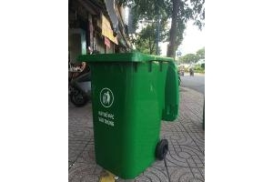 Thùng rác 240L | thùng rác  công cộng 240L