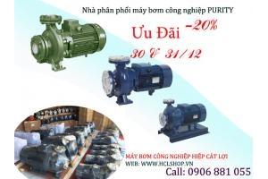 Giảm giá sốc trong 2 ngày 30-31/12 khi mua sp máy bơm nước