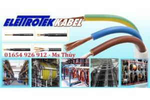 Cáp điều khiển Elettrotek Kabel - GAALFLEX CONTROL 600 SC - Elettrotek Kabel Vietnam