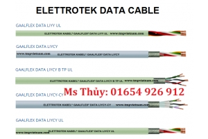 Cáp dữ liệu Elettrotek Kabel - GAALFLEX DATA LIYCY UL - Elettrotek Kabel Vietnam