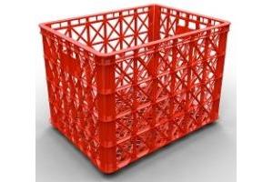Chuyên bán sóng nhựa hs022 - sóng nhựa 8 bánh xe đựng hàng may mặc