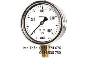 Đồng Hồ Đo Áp Suất P258 Chính Hãng WISE - Tăng Minh Phát VN