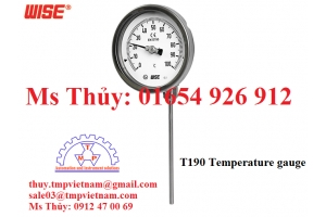 Đồng hồ đo nhiệt độ Wise T190 - T1906Y1EF1134A1 - Wise Vietnam - TMP Vietnam