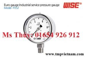Đồng hồ áp suất Wise - P2524A3EBI04130 - Wise Vietnam - TMP Vietnam