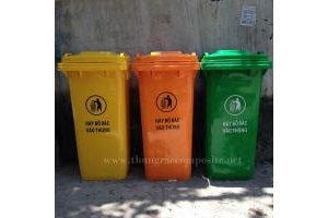 Đại lý thùng rác nhựa 240L giá siêu rẻ