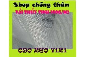 Vải thủy tinh chống thấm giá rẻ, mua vải thủy tinh nhập khẩu