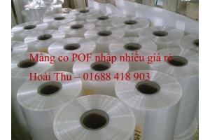 Màng co POF - Công nghệ bọc sản phẩm an toàn chất lượng