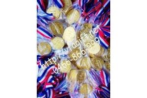Bán huy chương thể thao, huy chương đồng mạ vàng, huy chương ăn mòn