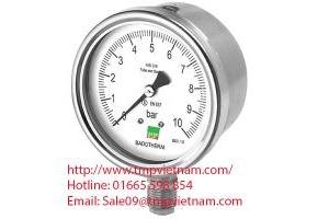 Đồng hồ đo áp suất có dầu Wise P258 – Wise Vietnam - TMP Vietnam