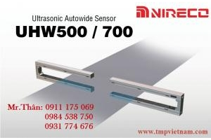 Cảm biến chỉnh biên UHW500 / 700 Nireco - Nireco Vietnam