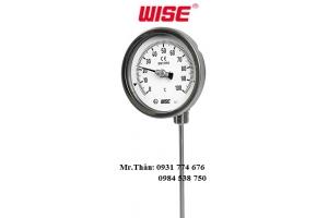 T190 đồng hồ đo nhiệt độ điều chỉnh mặt 90o WISE - WISE Vietnam
