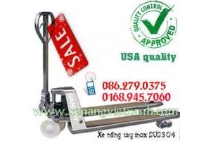 Xe nâng tay inox GamLift Mỹ DBCS20M giá siêu rẻ