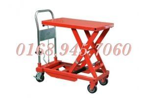 Xe nâng bàn 350kg giá 4600 giá siêu rẻ