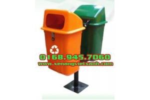 Thùng rác treo 50 lít, thùng rác công cộng 120l, 240l, 660l giá siêu rẻ, cạnh tranh toàn quốc