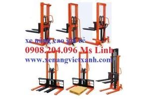Xe nâng tay cao tải trọng nâng 500/1000/1500/2000kg  nâng cao 1.6m giá siêu rẻ