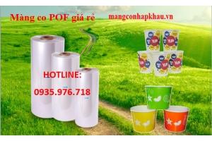 Màng co POF giá rẻ ngành nhựa gia