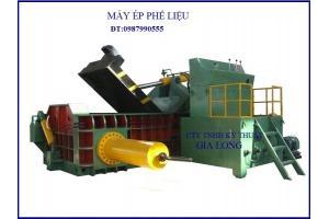 Máy ép nhôm phế liệu trong ngành công nghiệp phế thải