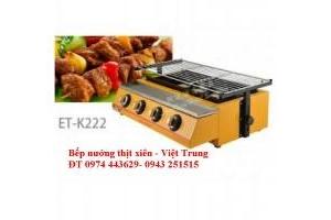 Bếp nướng thịt ET-K222, bếp nướng thịt xiên, bếp nướng chân gà.