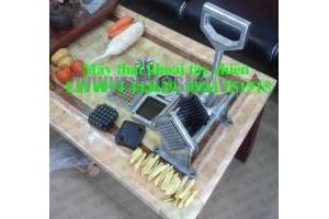 Máy thái khoai tây, máy thái khoai tây con chì, máy thái khoai tây lốc xoáy, máy thái khoai tây chiên