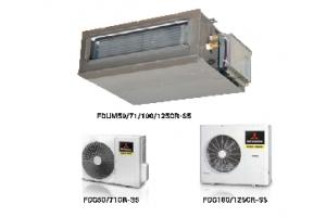 Lắp dòng máy lạnh giấu trần ống gió