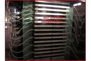 Máy ép nóng và máy ép nhiệt sản xuất tại công nghệ gia long