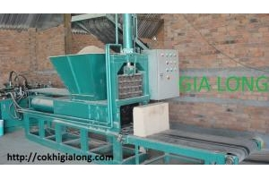 Máy ép lõi cùi bắp sản xuất tại công nghệ gia long