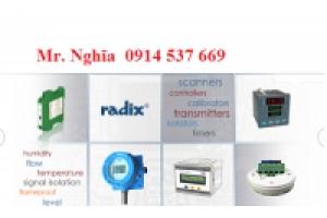 Bộ điều khiển nhiệt độ Radix-đại lý Radix tại Việt Nam