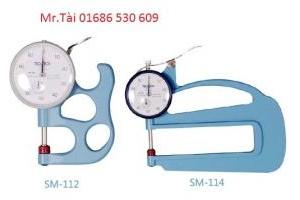 Đồng hồ đo độ dày Teclock SM-112 - Teclock Việt Nam - TMP Vietnam