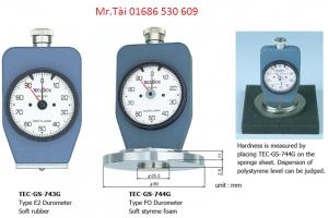 Đồng hồ đo độ cứng cao su gs-744g - Teclock việt nam - tmp vietnam