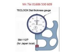 Đồng hồ đo độ dày SM 112P - Teclock Việt Nam - TMP Vietnam