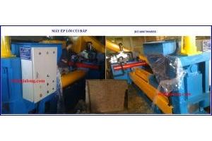 Giới thiệu máy ép củi mùn cưa tại cơ khí gia long