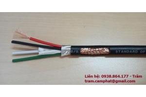 cáp điều khiển Sang Jin - Hàn Quốc quy cách 6x1.25SQmm